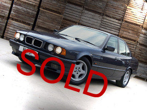For Sale - BMW E34 540i Saloon - The third from last ever made!